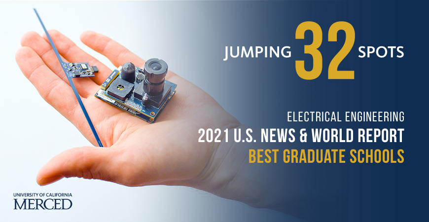 Electrical Engineering was ranked No. 129 by U.S. News, up 32 places from No. 161 last year.